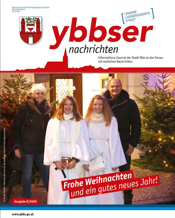 Ybbser Nachrichten 8/2020 - Cover